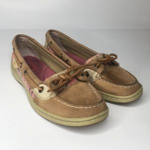 Sperry top sider slip on boat shoes size 5